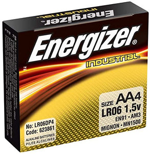 AA Alkaline Batteries, 4-pack