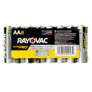 AA Alkaline Batteries, 12-pack