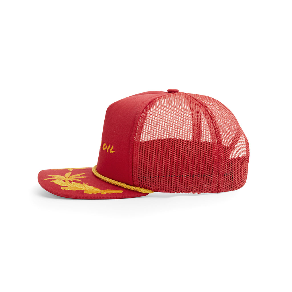 TRUCKER HAT RED