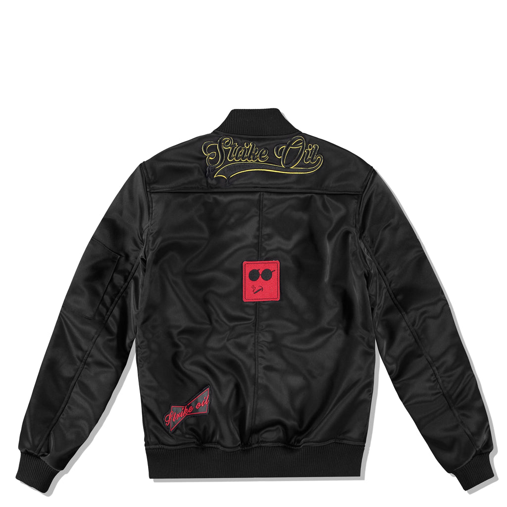 GIGI GORGEOUS SATIN BOMBER