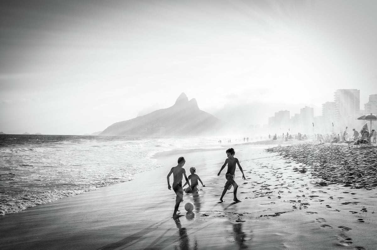 Children's game - Botafogo , Brazil