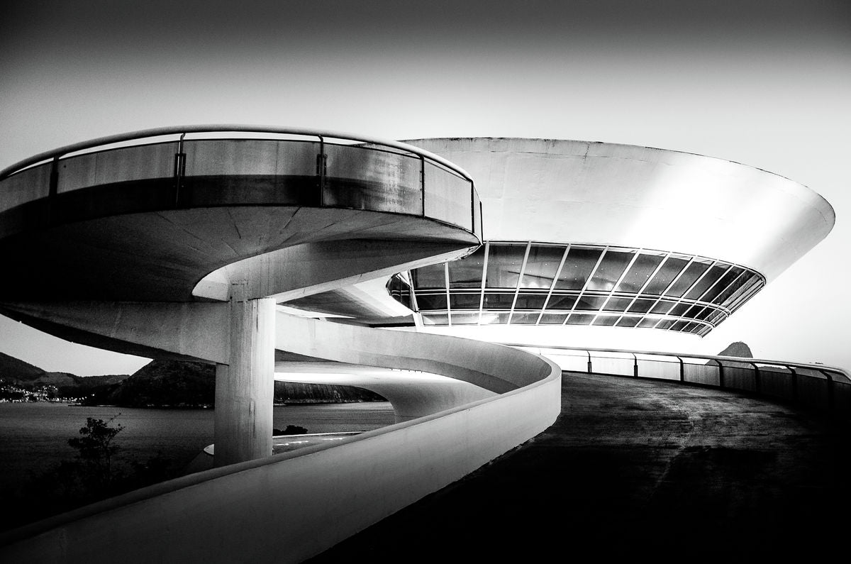 Space Curve -The Oscar Niemeyer Museum - Curitiba, Brazil