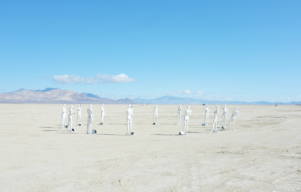 Art - Deep Playa - Burning Man