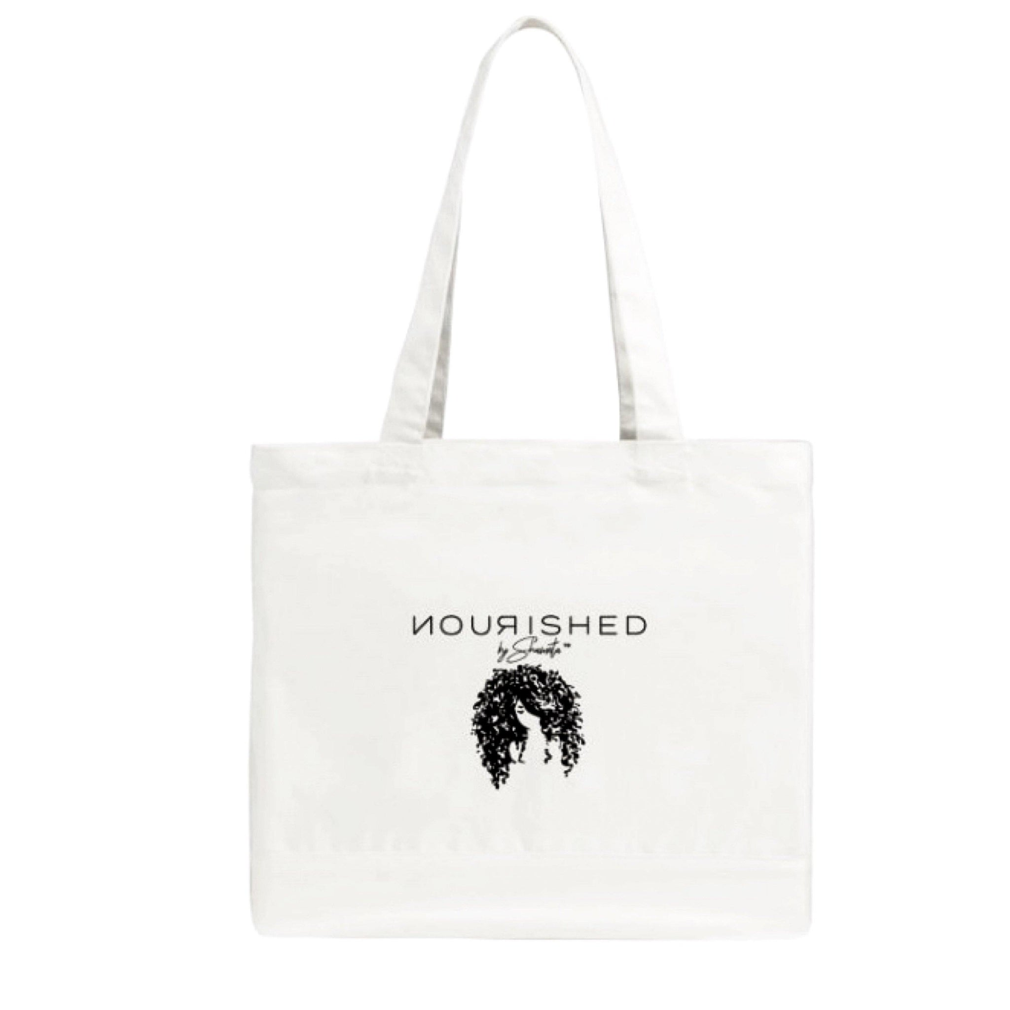 Nourished 100% Cotton Tote Bag