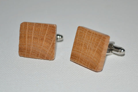 Red Oak Cuff Links