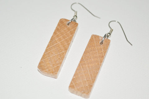 Red Oak Earrings