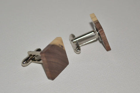 Walnut Cuff Links