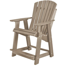 Load image into Gallery viewer, duraweather polywood patio furniture counter bar height adirondack chair