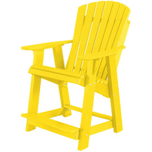 Load image into Gallery viewer, DuraWeather Poly® Classic Adirondack Counter Chair & Table Bistro Set