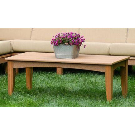 DuraWeather Poly® Princeton Estates Club Coffee Table (47