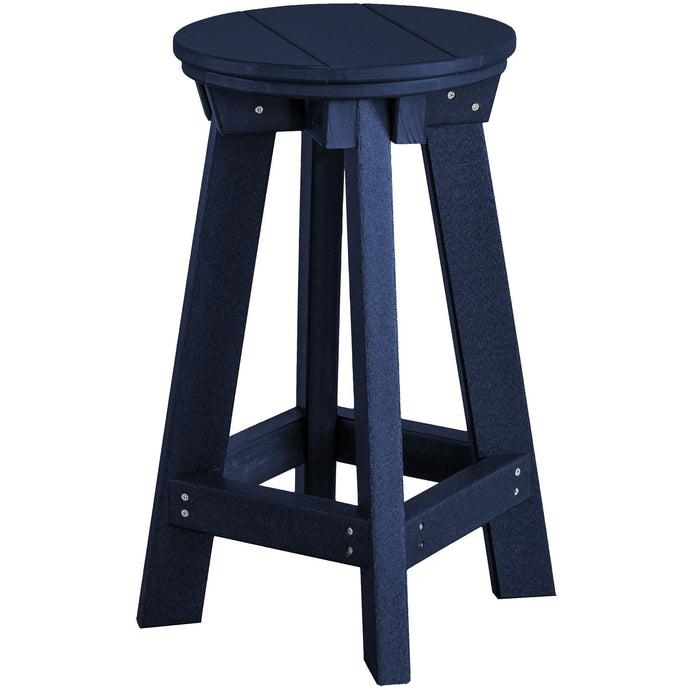 duraweather polywood outdoor patio furniture counter bar stool