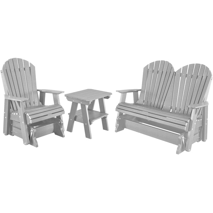 DuraWeather Poly® Ultimate Adirondack Glider Package