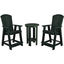 Load image into Gallery viewer, DuraWeather Poly® 3 pc. Plantation Bistro Group Counter Height Set