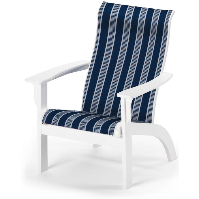 DuraWeather Poly® New! Folding MGP Adirondack Sling Chair