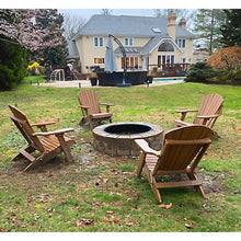 Load image into Gallery viewer, Set of 6 - DuraWeather Poly® Classic King Size Folding Adirondack Chairs