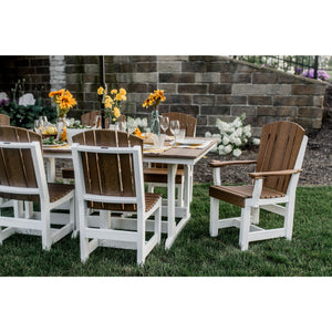 DuraWeather Poly® 7 pc. Plantation Dining Table Set (15+ Color Combinations)