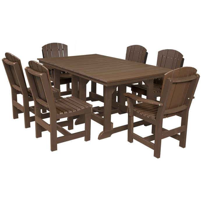 DuraWeather Poly® 7 pc. Plantation Dining Set