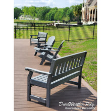 Load image into Gallery viewer, DuraWeather Poly® Garden Mission Bench