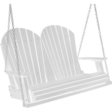Load image into Gallery viewer, polywood furniture, polywood swing, porch swing, adirondack chair, duraweather poly, poly lumber sing, patio furniture, outdoor furniture