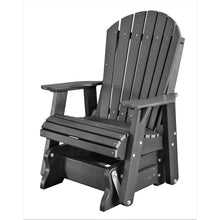 Load image into Gallery viewer, poly wood porch rocker glider outdoor single adirondack chair duraweather