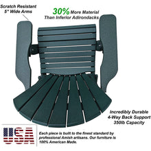 Load image into Gallery viewer, DuraWeather Poly® King Size Folding Adirondack Chair