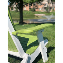 Load image into Gallery viewer, Set of 4 - DuraWeather Poly® Classic King Size Folding Adirondack Chairs