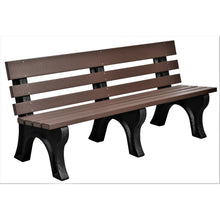 Load image into Gallery viewer, duraweather poly outdoor bench poly resin lumber yard garden furniture