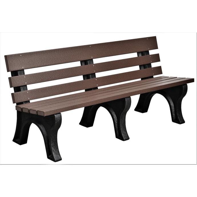 duraweather poly outdoor bench poly resin lumber yard garden furniture