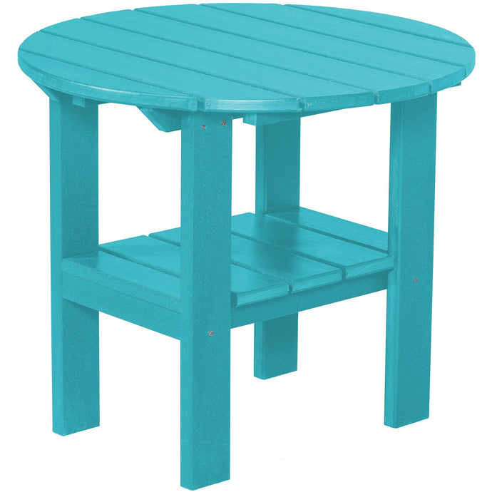 DuraWeather Poly® Two Tier Round End Table
