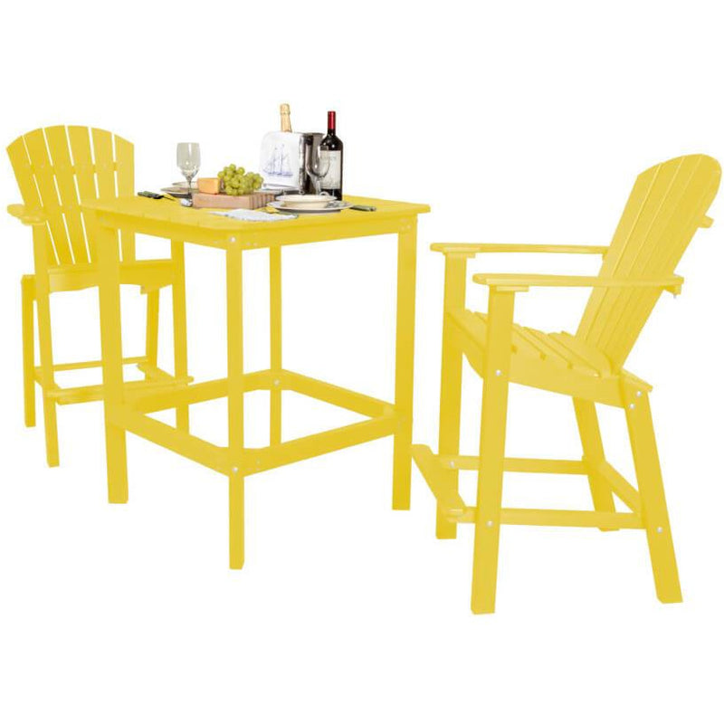 DuraWeather Poly® 3 pc. Counter Height Bistro Set