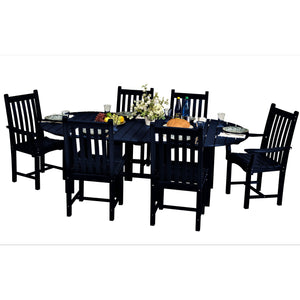 DuraWeather Poly® 7 pc. Mission Dining Set