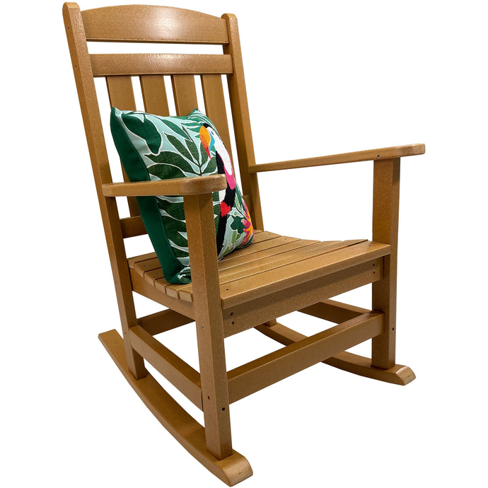 DuraWeather Poly® Classic King Size Porch Rocker