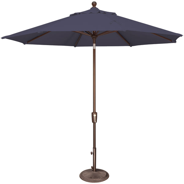 DuraWeather® 9' Push Button Tilt Octagon Umbrella (Over 22 Colors!) Quick Ship: 3-5 Business Days