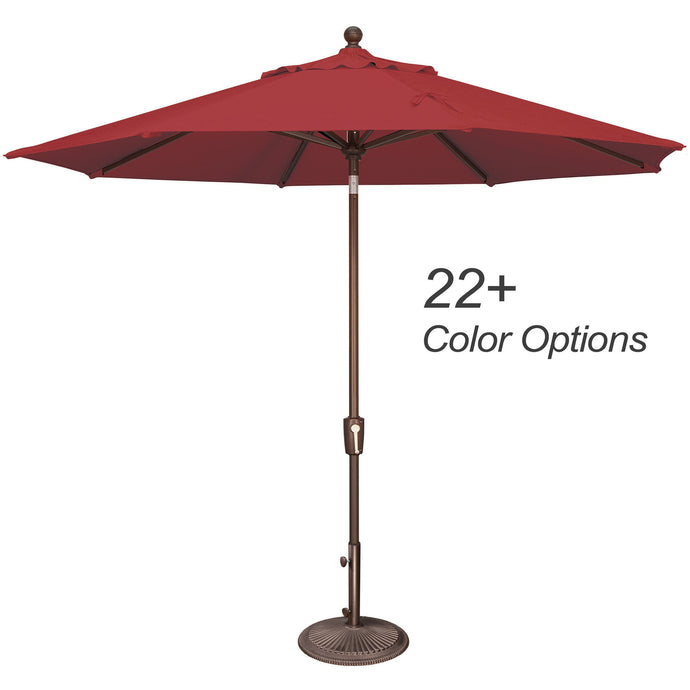 DuraWeather® 9' Push Button Tilt Octagon Umbrella (Over 22 Colors!) Ships in 3-5 Business Days