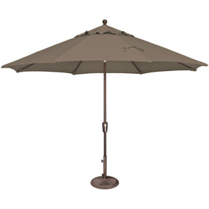 DuraWeather® 11' Push Button Tilt Octagon Umbrella (Over 22 Colors!) Ships in 3-5 Business Days