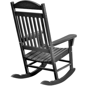 DuraWeather Poly® Traditional King Size Porch Rocker