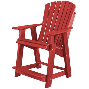DuraWeather Poly® Adirondack Counter Lounge Chair