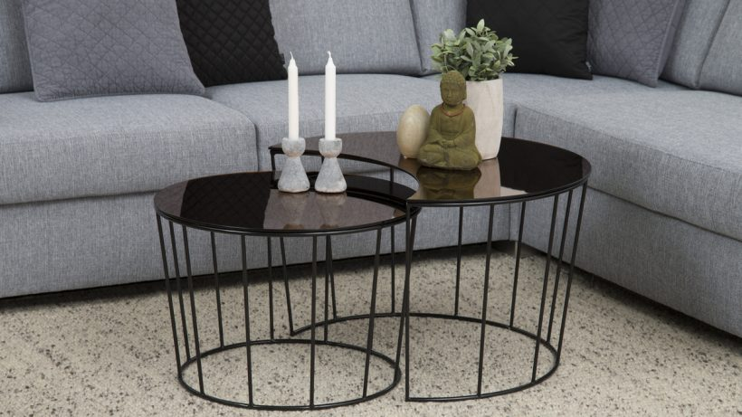 Ensemble de table basse Sunmoon