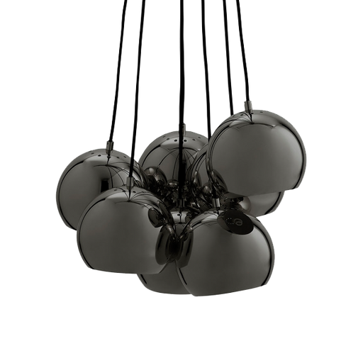 Multi Ball Pendant | Noir