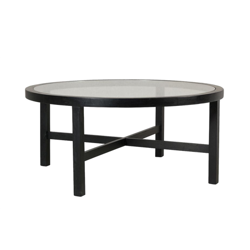 Table Basse Circulaire Midsomer, Noir