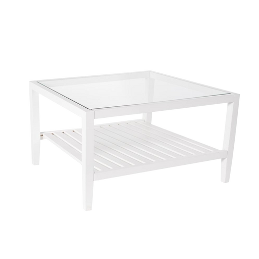 Table Basse Rectangulaire Midsomer, Blanc