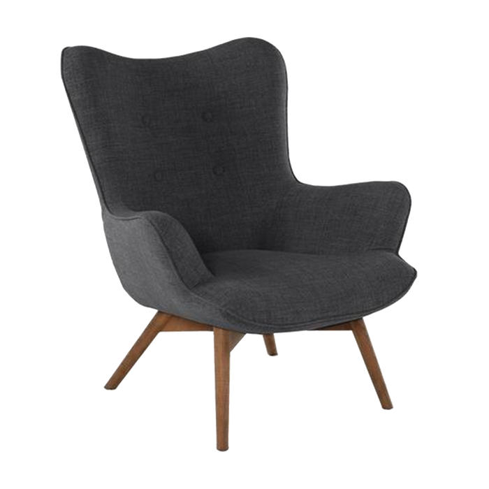 Fauteuil Twist | Anthracite