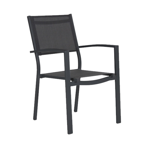 Lotus Dining Chair | Noir