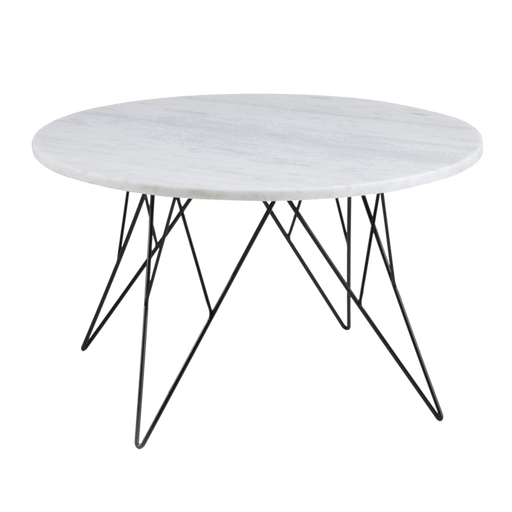 Table Basse Prunus | Blanc, Marbre, Grand Format