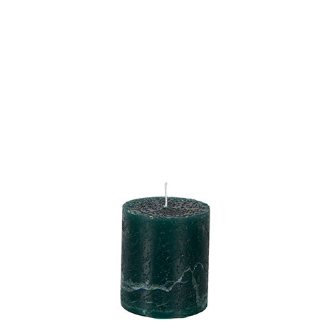Bougie Cote Nord Pillar | Dark Green
