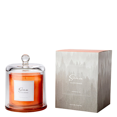 Bougie Parfumée Sense | Orange sanguine