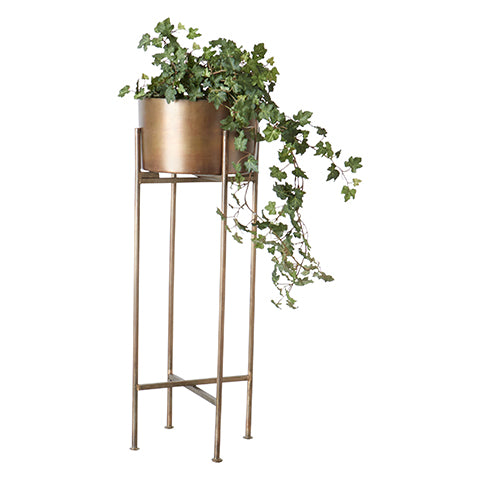Pot Thomas sur pied | Brass