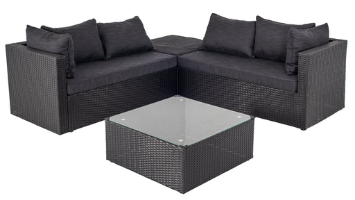 Bermuda set sofa et table | Noir