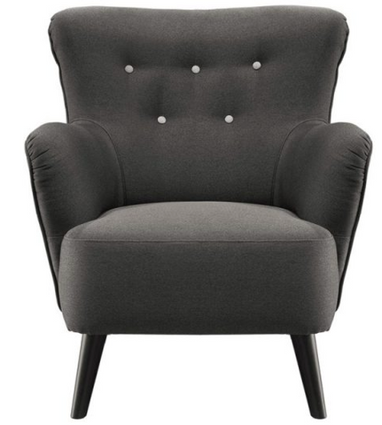 Fauteuil Tullo | Gris, Rouge, Tobacco