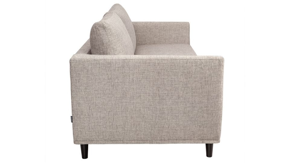 Option Sofa 2,5 places Danny Gris Clair
